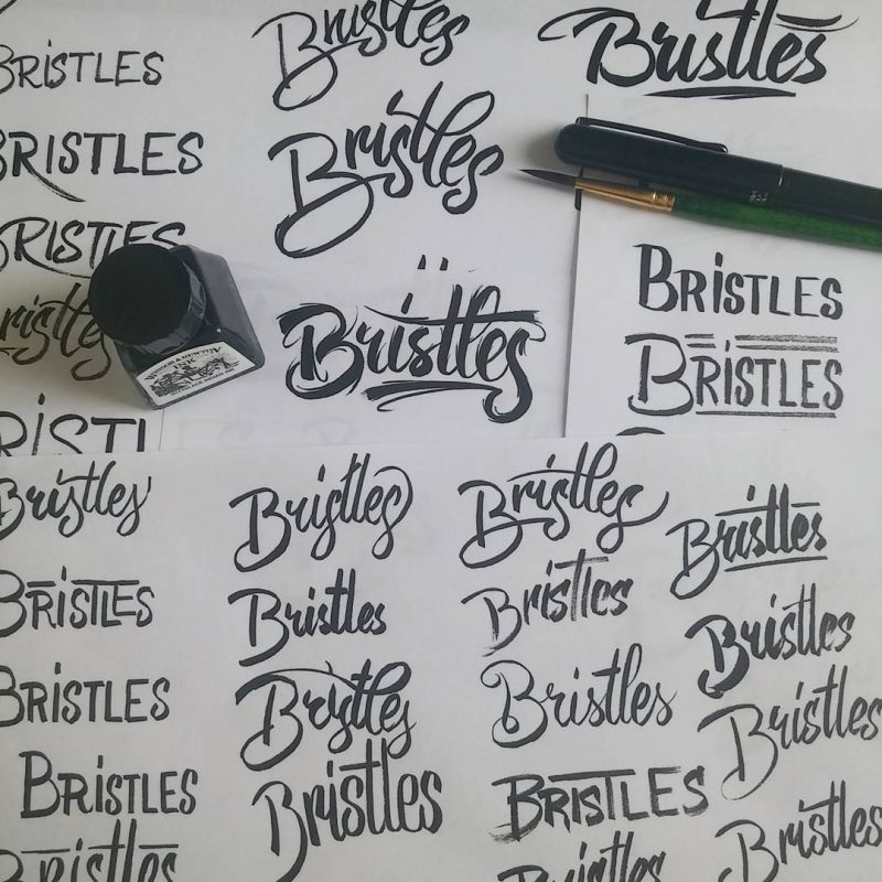 Bristles explorations