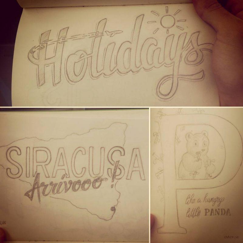 Holiday sketches