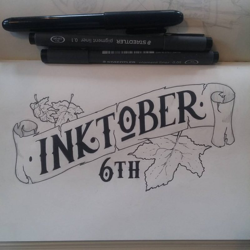 Inktober 2016 - 06