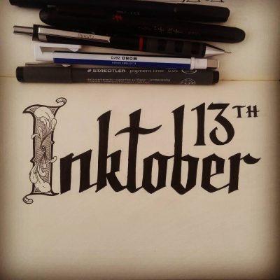Inktober 2016 - 13