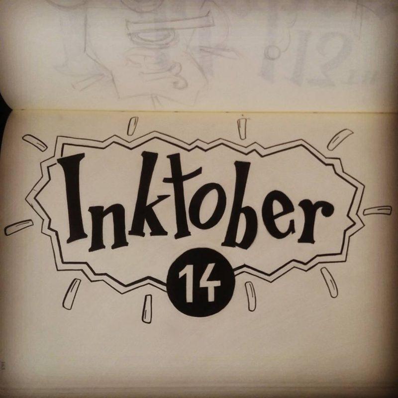 Inktober 2016 - 14