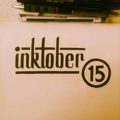 Inktober 2016 - 15