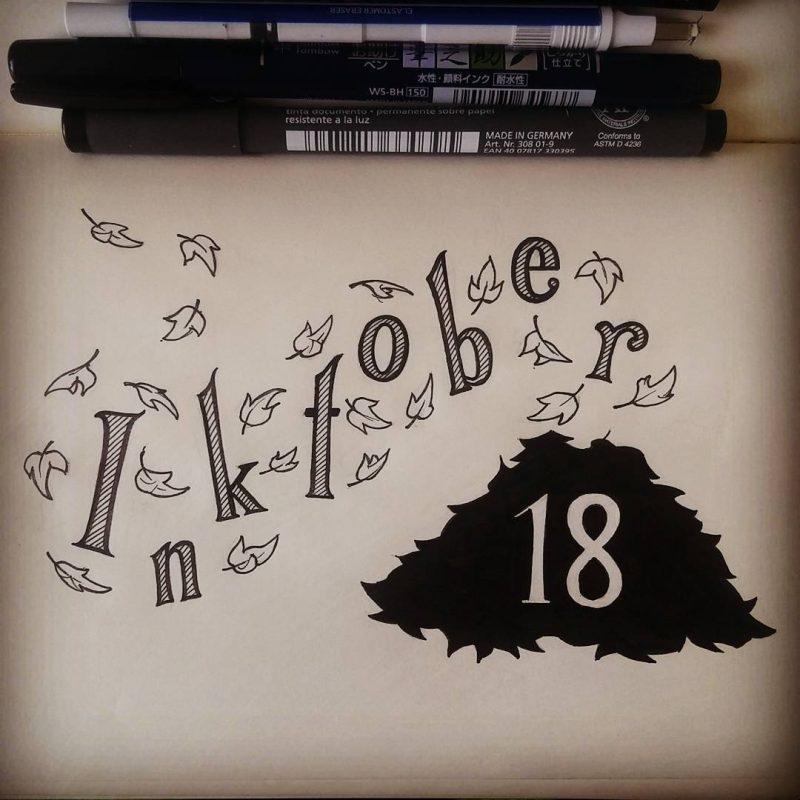 Inktober 2016 - 18