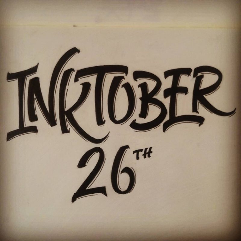Inktober 2016 - 26