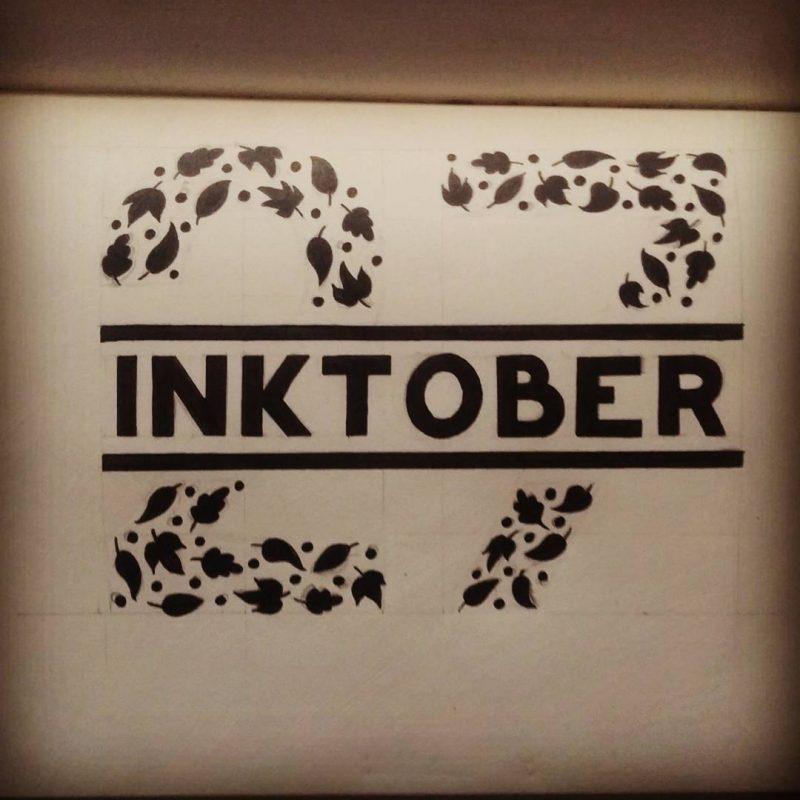 Inktober 2016 - 27 - 9