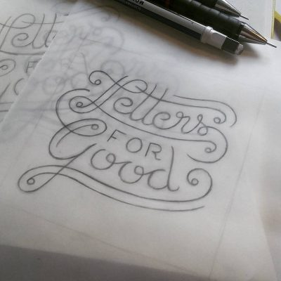 Letters for good - Sketch
