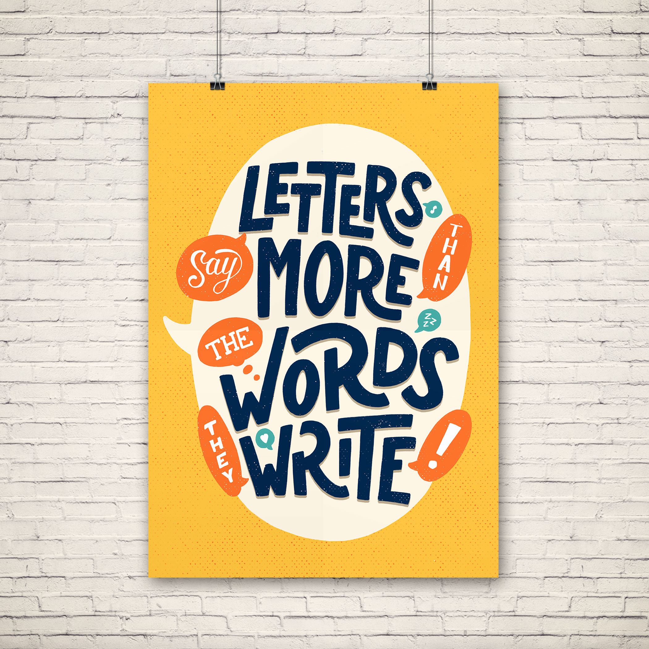 Letters say more... - Final colors