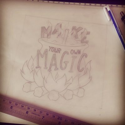 Make your own magic - Sketch