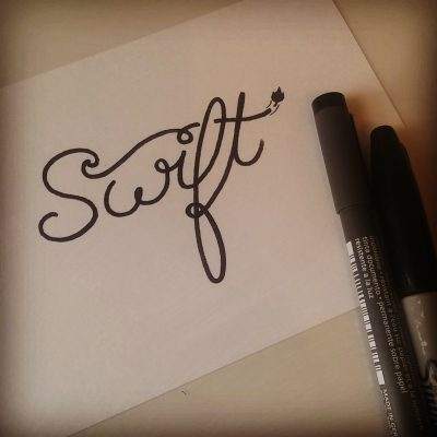 Inktober 2017 - 01 - Swift