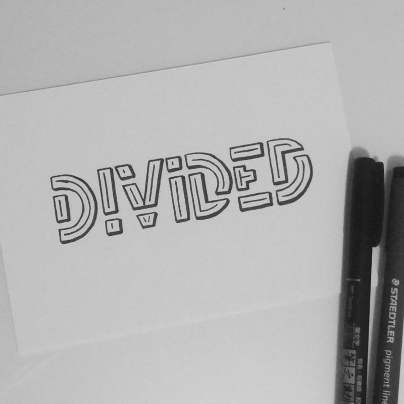Inktober 2017 - 02 - Divided