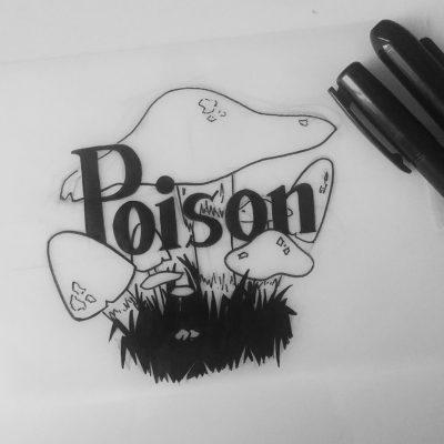 Inktober 2017 - 03 - Poison