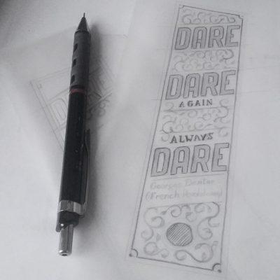 Dare... - Sketch