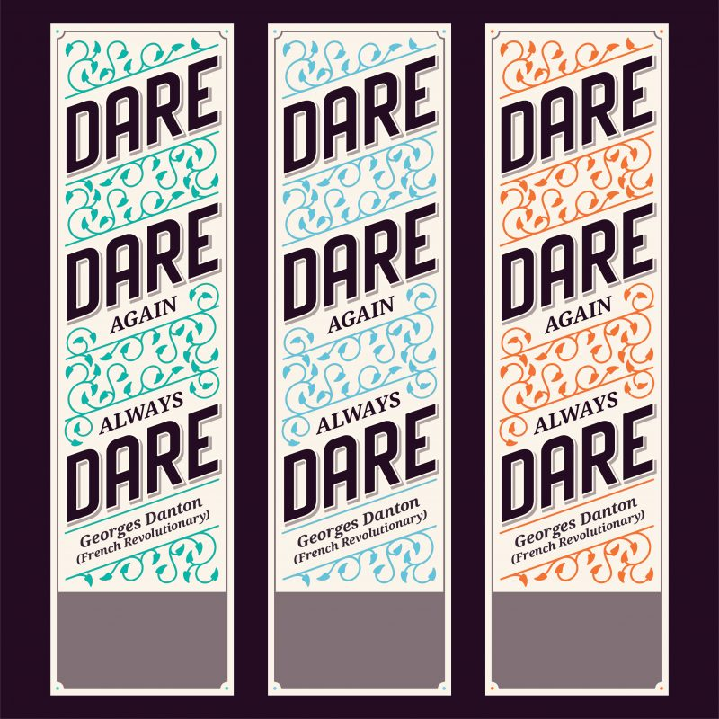 Dare… – Colors strong & soft